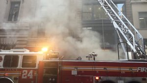 14 FDNY FIREFIGHTERS INJURED AT MANHATTAN FIRE