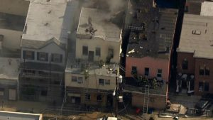 3 CHILDREN DEAD, 18 FIREFIGHTERS INJURED AT UNION CITY, NJ FIRE
