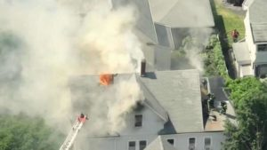 EVERETT, MA FIREFIGHTER SUFFERS EXTENSIVE BURNS AT FIRE
