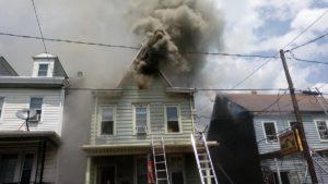 PA FIREFIGHTER INJUERD AT HOUSE FIRE