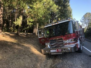 SAC METRO ENGINE COMPANY STOLEN – LEADS POLICE IN PURSUIT