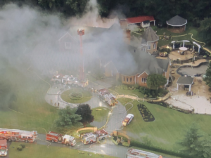 HOWARD COUNTY, MARYLAND FIREFIGHTER KILLED IN THE LINE OF DUTY-LARGE DWELLING FIRE