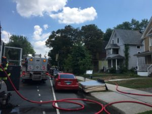 3 FIREFIGHTERS TREATED AFTER HARTFORD, CT FIRE