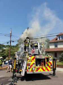 5 NJ FIREFIGHTERS INJURED AT NJ FIRE – STAIRWAY COLLAPSE