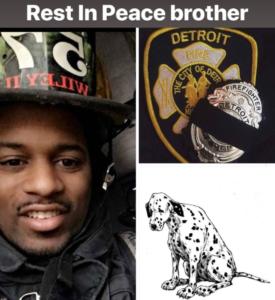 DETROIT FIREFIGHTER MURDERED OFF-DUTY