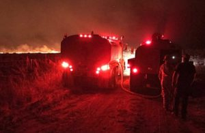 BURNED WASH. FIREFIGHTER CONDITION 'SATISFACTORY'