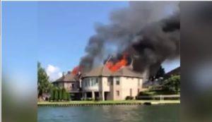 TWO FIREFIGHTERS SUFFER HEAT EXHAUSTION AT TENN. BLAZE