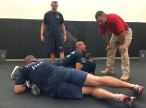 ARIZ. FIREFIGHTERS GET SELF-DEFENSE TRAINING