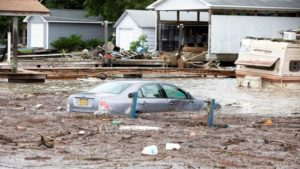 Floods Trap NY Firefighters During Rescues