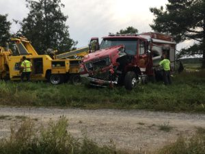 FATAL FIRE APPARATUS IN VERMONT-CIVILIAN KILLED