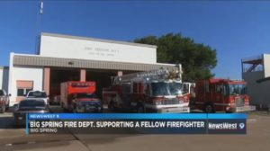 TEXAS FIREFIGHTER SUFFERS MASSIVE HEART ATTACK ON SCENE, CRITICAL CONDITION