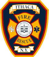 NY FIREFIGHTER INJURED AT GARAGE FIRE