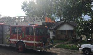 FIREFIGHTER HURT AT WEEKEND DUPLEX FIRE IN ILL.