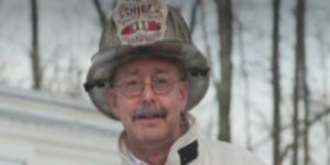 MA FIRE CHIEF SUFFERS CONCUSION AFTER FALL AT FIRE
