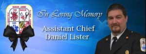 MARYLAND ASSISTANT FIRE CHIEF LODD FUNERAL DETAILS
