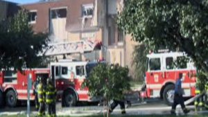 7 BALTIMORE FIREFIGHTERS INJURED AT GAS EXPLOSION – 1 SERIOUSLY