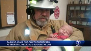 UPDATE: IOWA FIREFIGHTER LODD WAS DEPARTMENT'S CHIEF