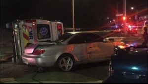 HIT-AND-RUN DRIVER FLIPS CONN. AMBULANCE, HURTS 2 MEDICS