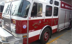 N.J. FIREFIGHTER INJURED AT HOUSE FIRE