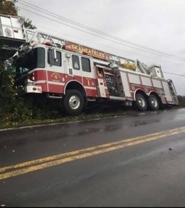 NY TOWER RUNS OFF ROAD RESPONDING
