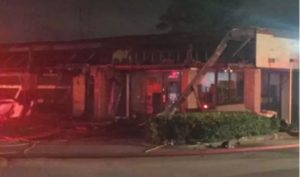 TENN. FIREFIGHTER HURT AT COMMERCIAL FIRE