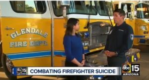 ARIZ. FIRE DEPARTMENT SUICIDE, PTSD PROGRAM INCLUDES TRACKING HIGH-STRESS INCIDENTS