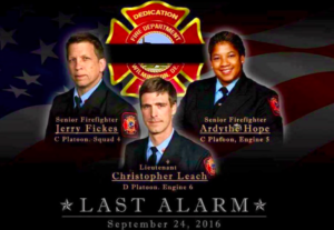 THE IMPACT ON YOUR FIRE DEPARTMENT AFTER THESE 3 FIREFIGHTERS WERE KILLED IN THE LINE OF DUTY