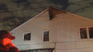 RI FIREFIGHTER INJURED AT FIRE