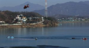 S. KOREA: FIREFIGHTING HELICOPTER CRASHES, KILLING 1, INJURING 2