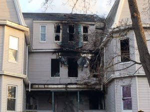 WORCESTER FIREFIGHTER LODD STRUCTURE FIRE FOLLOWING MAYDAY