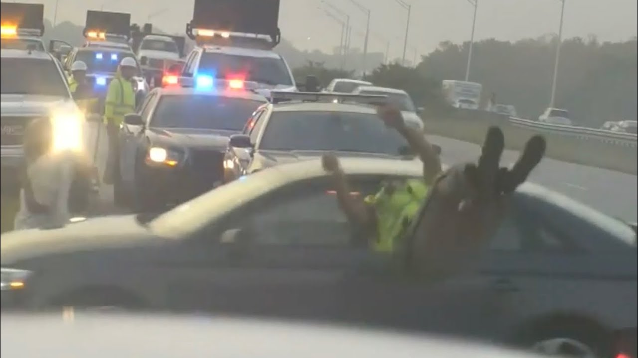 Video Shows Moment Trooper Is Struck